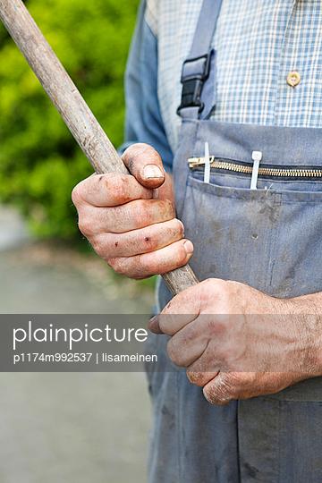 Stock in der Hand - p1174m992537 von lisameinen
