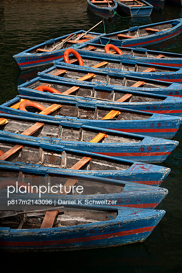 Wooden boats - p817m2143096 by Daniel K Schweitzer