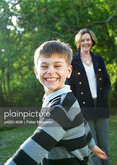 Grandmother - p4261469f by Peter Melander