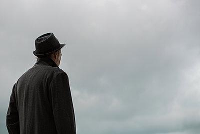 Alone man - p1623m2216620 by Donatella Loi