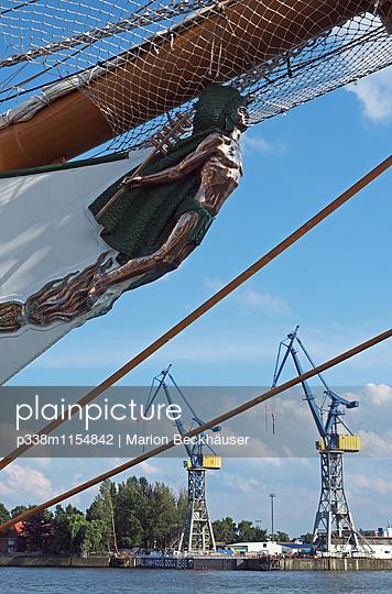 Segelschulschiff Cuauhtemoc - p338m1154842 von Marion Beckhäuser