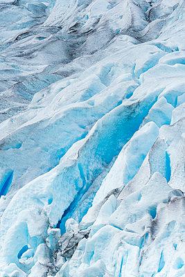 View of glacier - p312m1210941 by Mikael Svensson