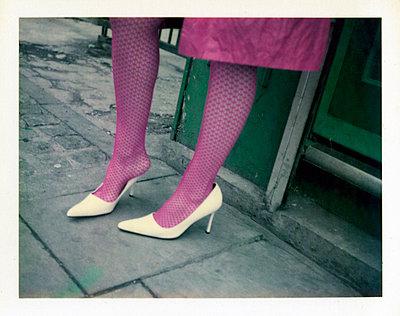Purple stockings - p3420510 by Thorsten Marquardt