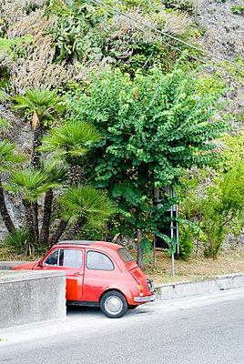 roter FIAT 500 - p9790643 von Freudenthal