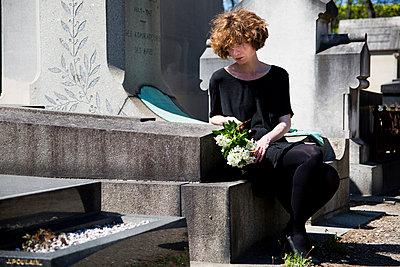 Grief - p940m1030750 by Bénédite Topuz