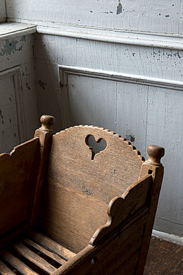 Old cradle - p949m948554 by Frauke Schumann