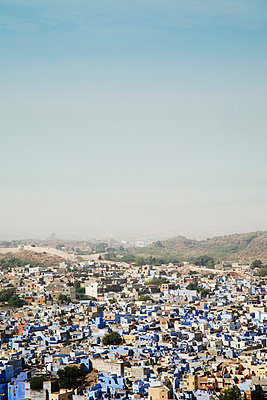 Blue city in India - p3750631 by whatapicture
