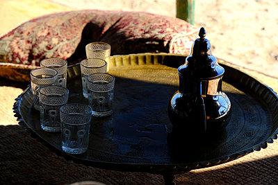 Mint flavored tea - p1105m2043831 by Virginie Plauchut