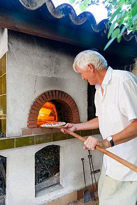 Homemade Pizza - p756m932184 by Bénédicte Lassalle