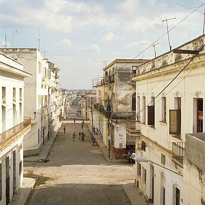 Street in Havana - p7660021 by Natalie Kriwy