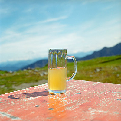 Wanderung mit Ziel Berghütte - p4470305 von Anja Lubitz