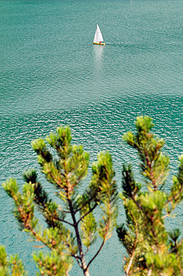 Lake - p715m755910 by Marina Biederbick