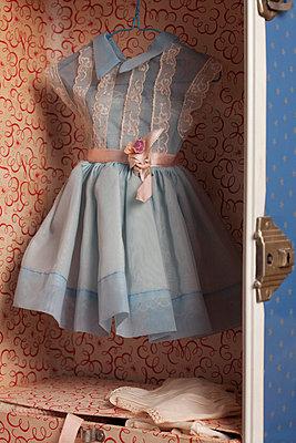 Dress of a doll - p8370023 by Cornelia Hediger