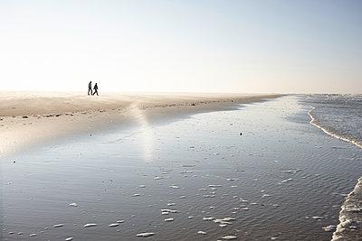 Spaziergang im Strand - p1198m1492406 von Guenther Schwering