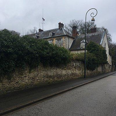 Frankreich, Chaumont-en-Vexin, Villa - p1401m2165707 von Jens Goldbeck