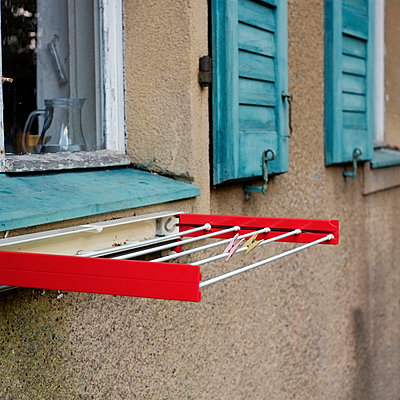 Clothes line - p989m929298 by Gine Seitz