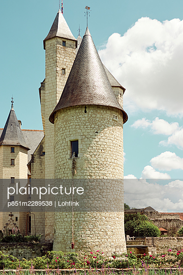 Castle of the Loire Valley, France  - p851m2289538 by Lohfink