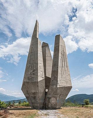 Partisanendenkmal in Bulgarien - p390m2126673 von Frank Herfort