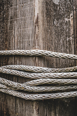 Old rope - p1228m1574839 by Benjamin Harte