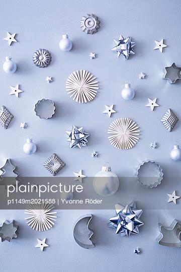 Weihnachtsdekoration - p1149m2021588 von Yvonne Röder