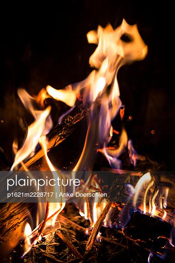 Fire - p1621m2228717 by Anke Doerschlen