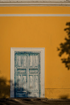 Blue door - p1170m2185864 by Bjanka Kadic