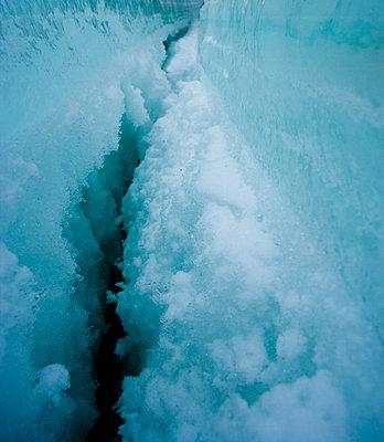 Gletscherspalte - p2481207 von BY