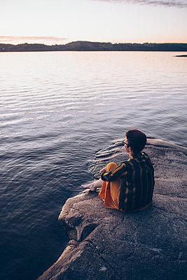The Lake - p1507m2090112 by Emma Grann