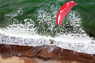 Paragliding - p179m1064386 by Roland Schneider