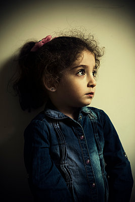 Sad little girl  - p794m2031100 by Mohamad Itani