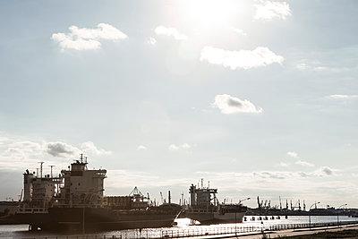 Containerhafen Hafencity - p1222m1162578 von Jérome Gerull