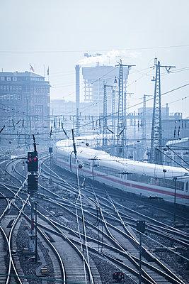 Schienen - p1222m1538263 von Jérome Gerull