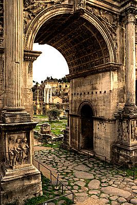 Titusbogen Romanum - p1620055 von Beate Bussenius