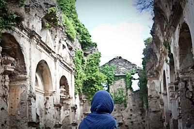 Ruins of San Francescu d'Orezza convent 1 - p1513m2043977 by ESTELLE FENECH