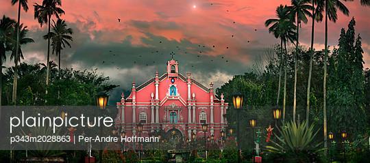 Colonial church at Villa Escudero Plantation, Laguna, Luzon Island, Philippines