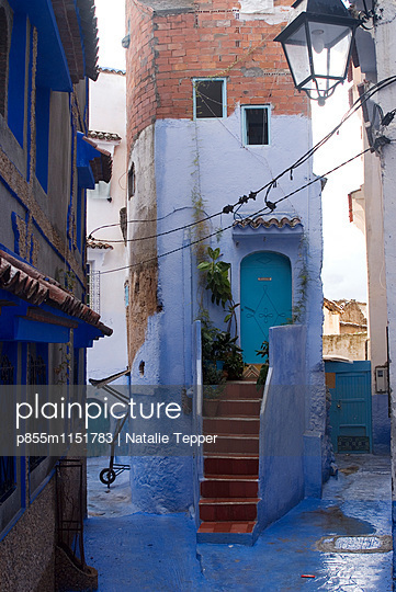 Chefchaouen, Morocco - p855m1151783 by Natalie Tepper