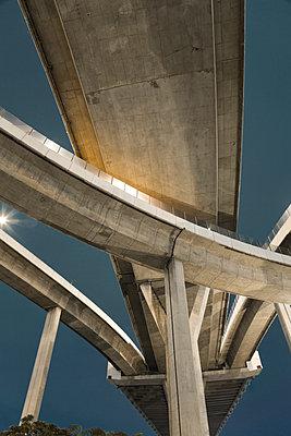 Brücke in Bangkok - p1032m1220667 von Fuercho