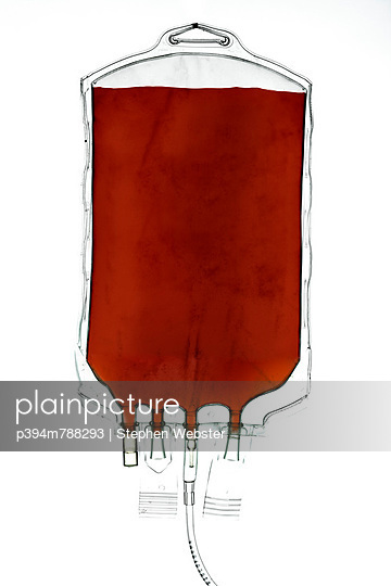 Blood bag - p394m788293 by Stephen Webster