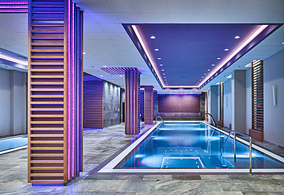 Luxury spa with pool - p390m1441299 by Frank Herfort