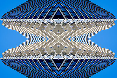 Abstract Architecture Kaleidoscope Boston - p401m2219858 by Frank Baquet