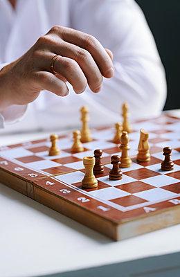 Schachspiel - p1577m2289506 von zhenikeyev