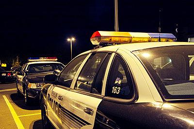 Polizeiautos in Kalifornien USA - p3300261 von Harald Braun