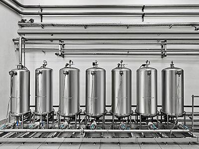 Vodka distillery - p390m940395 by Frank Herfort