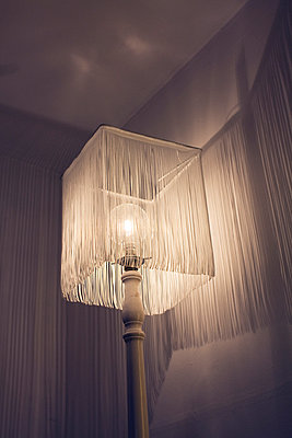 Tassled Lamp - p1121m1045439 by Gail Symes