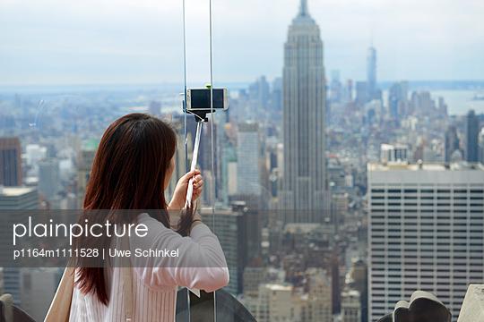 New York City Selfie - p1164m1111528 von Uwe Schinkel