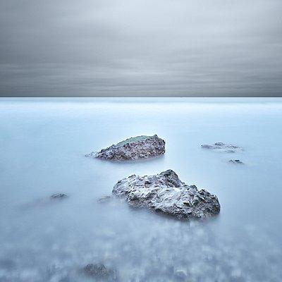 Coast in Normandy - p1137m932517 by Yann Grancher