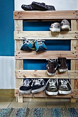 Schuhschrank - p1146m1042035 von Stephanie Uhlenbrock