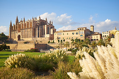 Spain, Mallorca, Cathedral in Palma de Mallorca - p885m2175229 by Oliver Brenneisen
