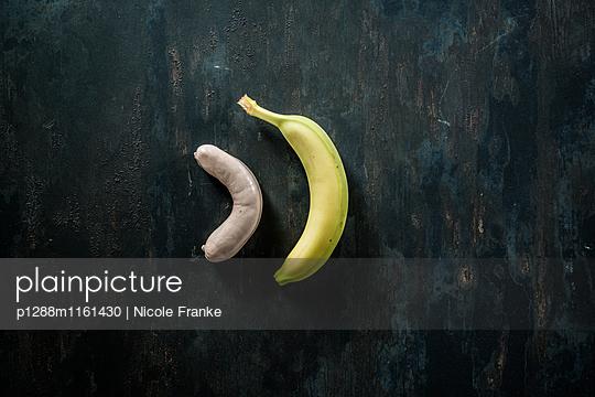Currywurst und eine Banane - p1288m1161430 von Nicole Franke