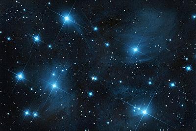 M45 pleiades open star  cluster - p300m1204914 by David Herraez Calzada